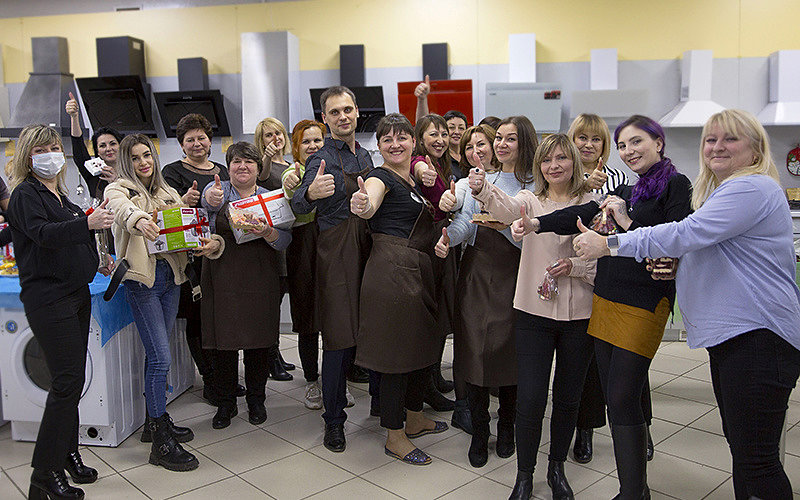 Встреча с партнерами и подведение итогов г. Астрахань
